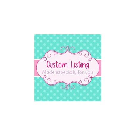 Custom Order Therese Curtin