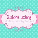 Custom Order Therese Curtin