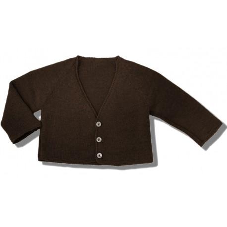 Cardigan chocolate brown