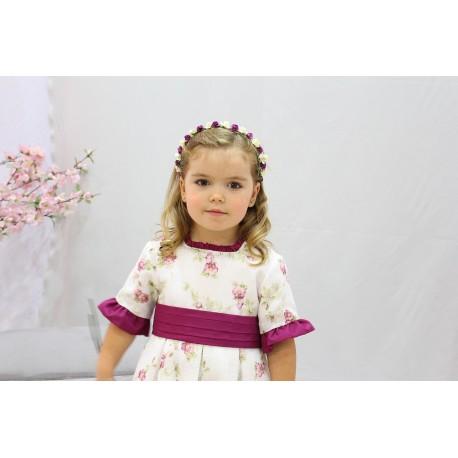 Eggplant Color Flower Girl Dress