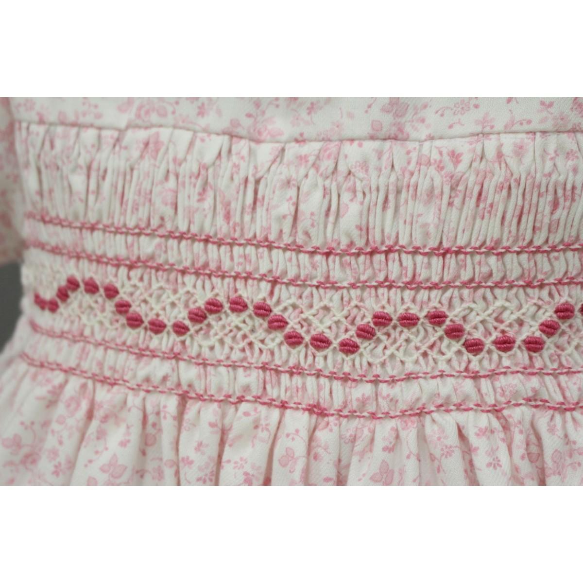 Vestidos de nina de punto smock