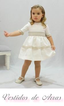 Vestidos de arras niñas baratos online Madrid